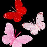 Hareketli Uçuşan Kelebekler2