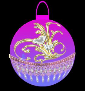 Новогодние шарики png